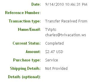 Первая выплата с Infinitybux.com