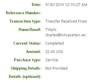 Третья выплата с Infinitybux.com