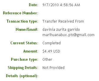 Двадцать восьмая выплата с Marihuanabux.com
