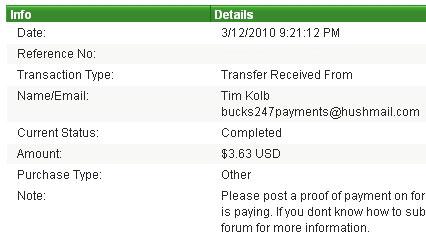 Первая выплата с Bucks247.com